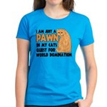 Cat's World Domination Women's Dark T-Shirt