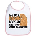 Cat's World Domination Bib
