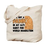 Cat's World Domination Tote Bag