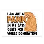 Cat's World Domination Postcards (Package of 8)