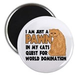 Cat's World Domination Magnet