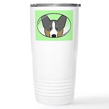 Anime Tri Cardigan Welsh Corgi Travel Mug