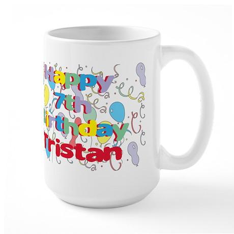 Tristan's 7th Birthday Large Mug