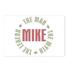 Mike Man Myth Legend Postcards (Package of 8)