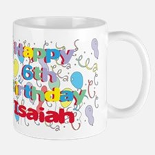 Isaiah's 6th Birthday Mug