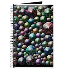Colorful Circle Pattern Journal