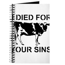I Died For Your Sins Journal