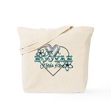 Cute Us navy Tote Bag