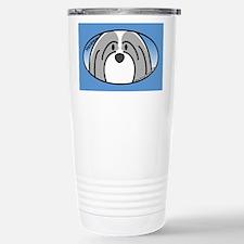 Anime Gray Havanese Travel Mug