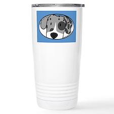 Anime Merle Great Dane Travel Mug