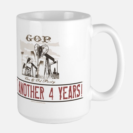 Gas and Oil Party Large Mug