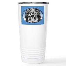Anime Grey Bergamasco Thermos Mug
