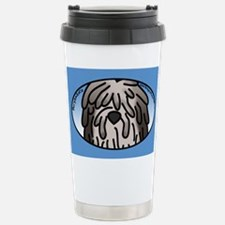 Anime Fawn Bergamasco Stainless Steel Travel Mug