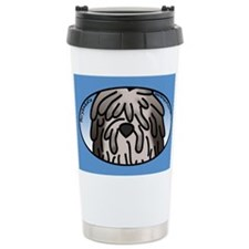 Anime Fawn Bergamasco Travel Mug