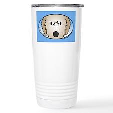 Anime Fawn Irish Wolfhound Travel Mug