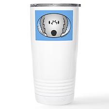 Anime Irish Wolfhound Travel Coffee Mug