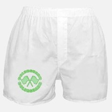 Vintage Colorguard Green Boxer Shorts