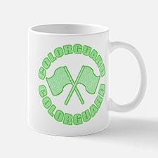 Vintage Colorguard Green Mug
