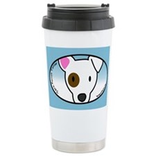Anime Eyepatch Jack Russell Travel Mug