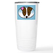 Anime Jack Russell Terrier Travel Mug