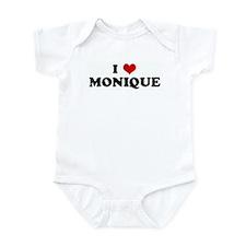 I Love MONIQUE Infant Bodysuit