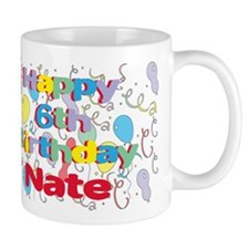 Nate's 6th Birthday Mug