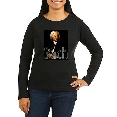 Bach Women's Long Sleeve Dark T-Shirt