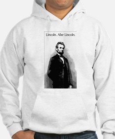 Lincoln. Abe Lincoln. Hoodie