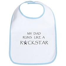 Rockstar Dad Bib