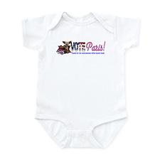 Vote Paris! Infant Bodysuit