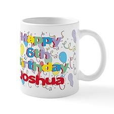 Joshua's 6th Birthday Mug