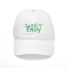 Emily-grn Baseball Cap