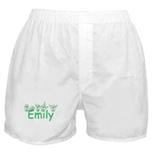 Emily-grn Boxer Shorts
