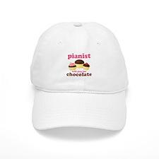 Chocolate Pianist Baseball Cap