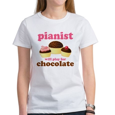 Chocolate Pianist Women's T-Shirt