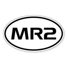 MR2 Oval Decal