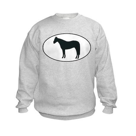 Horse Kids Sweatshirt