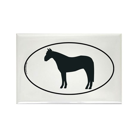 Horse Rectangle Magnet (10 pack)