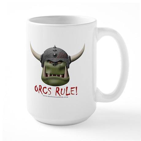 Orcs Rule (2) Large Mug
