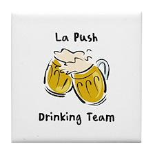 Drinking Team - La Push Tile Coaster