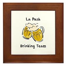 Drinking Team - La Push Framed Tile