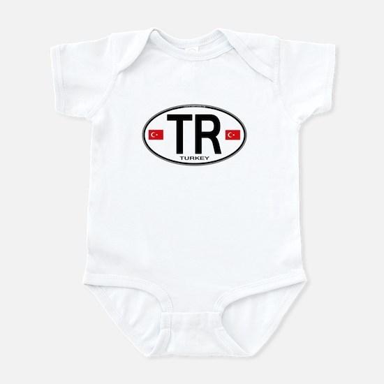 Turkey Euro Oval Infant Bodysuit