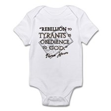 Obedience to God Infant Bodysuit