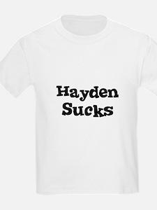 Hayden Sucks Kids T-Shirt