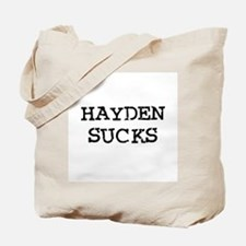 Hayden Sucks Tote Bag