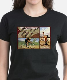Vintage Cycling Cyclists Tee