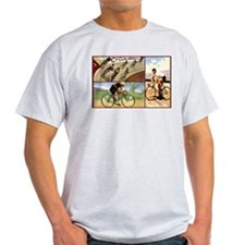 Vintage Cycling Cyclists T-Shirt