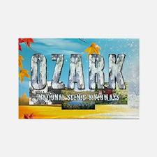 ABH Ozark Rectangle Magnet (10 pack)