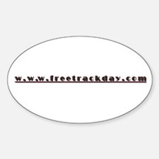 FTD URL Oval Decal