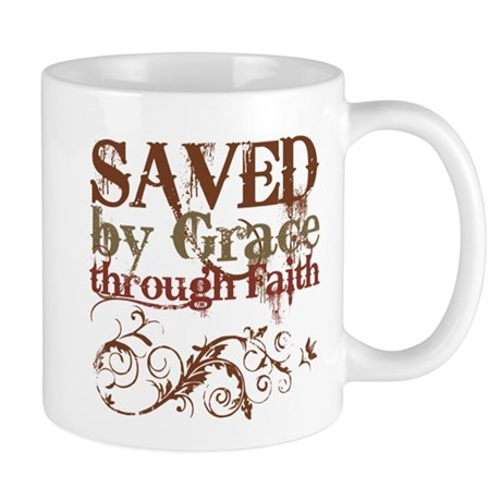 Saved by Grace Mug